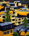 Obras de arte: America : Colombia : Antioquia : Medellin : AL CAER LA NOCHE.