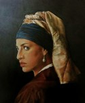 Obras de arte:  : Argentina : Buenos_Aires : CABA : Another girl with the pearl earring