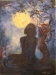 Obras de arte: Europa : España : Islas_Baleares : Ibiza : Melodía de la Luna