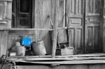 Obras de arte:  : Cuba : Santiago_de_Cuba : Stgo_ciudad : La china azul