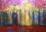 Obras de arte: America : Argentina : Santa_Fe : Rosario : Algo esconde paisajes a mis ojos de sueños