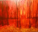 Obras de arte: America : Argentina : Santa_Fe : Rosario : Mis crepúsculos sueñan bañarse en tus luces
