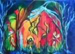 Obras de arte: America : Argentina : Buenos_Aires : ituzaingo : Bosque encantado