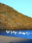 Obras de arte: Europa : España : Islas_Baleares : Es_Castell : banderas por la paz