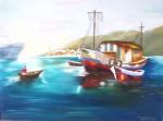 Obras de arte: America : Argentina : Cordoba : Cordoba_ciudad : Barco Pesquero