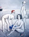 Obras de arte:  : Alemania : Mecklenburg-Vorpommern :  : ¿Rojo o negro?