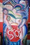 Obras de arte:  : España : Galicia_La_Coruña : Santiago_de_Compostela : STOP