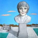 Obras de arte:  : Alemania : Mecklenburg-Vorpommern :  : Angela Merkel