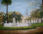 Obras de arte: America : Argentina : Buenos_Aires : san_antonio_de_areco : Plaza Arellano