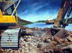 Obras de arte:  : Panamá : Veraguas : Santiago_de_Veraguas : Ampliación del Canal de Panamá No1