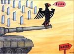 Obras de arte:  : Alemania : Mecklenburg-Vorpommern :  : ¡A la batalla!