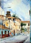 Obras de arte:  : España : Canarias_Santa_Cruz_de_Tenerife : Santa_Cruz_Tenerife_ciudad : Calle Candilas-La Laguna