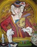 Obras de arte: Europa : España : Canarias_Las_Palmas : Las_Palmas_de_Gran_Canaria : Dama de carnaval