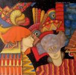 Obras de arte: America : Colombia : Distrito_Capital_de-Bogota : Bogota_ciudad : ALCOR Y MIZAR