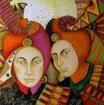 Obras de arte: America : Colombia : Distrito_Capital_de-Bogota : Bogota_ciudad : FIESTA