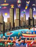 Obras de arte:  : Colombia : Cundinamarca : BOGOTA_D-C- : Torres gemelas de New York