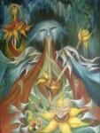 Obras de arte: America : México : Mexico_Distrito-Federal : Coyoacan : CARTA III LA EMPREATIRZ ARCANOS MAYORES