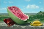 Obras de arte: America : Cuba : Matanzas : naranjal : ��frutas frente al valle de yumuri��