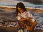 Obras de arte: Europa : España : Valencia : Alicante : En la playa