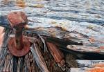 Obras de arte: Europa : España : Madrid : Madrid_ciudad : Como un clavo ardiendo