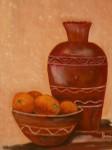 Obras de arte: Europa : España : Catalunya_Girona : Figueres : naranjas