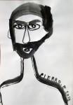 Obras de arte: America : Argentina : Mendoza : godoy_cruz : autoretrato con barba