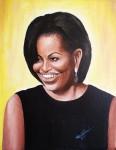 Obras de arte: America : Rep_Dominicana : Santiago : rep._imperial : MICHELLE OBAMA