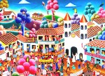 Obras de arte:  : Colombia : Cundinamarca : BOGOTA_D-C- : Manaifestacion: La ilusion de un pueblo