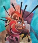"""Obras de arte: America : Chile : Tarapaca : IQUIQUE : Estación 1 """"El injusto"""""""