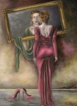 Obras de arte: Europa : Portugal : Viseu : Viseu_cidade : o espelho vermelho