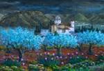 Obras de arte: Europa : España : Valencia : Xativa : CALVARI, OLIVERES I LLIRIS