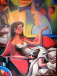 Obras de arte: Europa : España : Castilla_y_León_Valladolid : Valladolid_ciudad. : Damisela