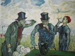 Obras de arte: America : Argentina : Buenos_Aires : Caballito : Los Borrachos