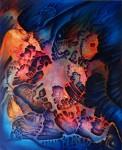 Obras de arte: America : México : Oaxaca : juchitan_de_zaragoza : CUANDO EL ALMA SE DESPRENDE