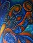 Obras de arte: America : México : Oaxaca : juchitan_de_zaragoza : EL CICLO DE LA VIDA