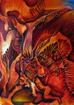 Obras de arte: America : México : Oaxaca : juchitan_de_zaragoza : EL ESCAPE