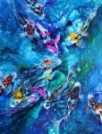 """Obras de arte: Europa : España : Catalunya_Barcelona :  : """"Koi's Pond III"""""""