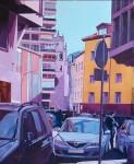 Obras de arte: Europa : España : Castilla_y_León_Burgos : burgos : Calle Hortelanos (Burgos)