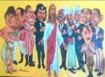 Obras de arte:  : Ecuador : Pichincha : Quito : CARICATURA
