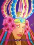Obras de arte:  : Panamá : Panama-region : Panamá_centro : Reina Congo panameña(Prohibido el uso o reproducción de esta obra)