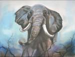 Obras de arte: America : Argentina : Santa_Fe : Rosario : Elefante
