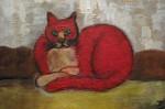 Obras de arte:  : México : Mexico_Distrito-Federal : Cuauhtemoc : El rey de los gatos
