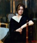 Obras de arte: Europa : España : Valencia : valencia_ciudad : Alejandro  Cabeza - Retrato de mujer