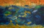 Obras de arte:  : México : Mexico_Distrito-Federal : Cuauhtemoc : Azul Profundo