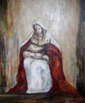 Obras de arte: America : Argentina : Buenos_Aires : san_antonio_de_areco : La Virgen y El Niño.
