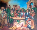 Obras de arte:  : Ecuador : Pichincha : Quito : ENCUENTRO EN QUITO