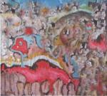 Obras de arte:  : Nicaragua : Managua : Managua_ciudad : CEREMONIA NATIVA.