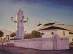 Obras de arte:  : España : Extremadura_Badajoz : Merida_badajoz : PILAR   DE   VISTAHERMOSA
