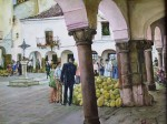 Obras de arte:  : España : Extremadura_Badajoz : Merida_badajoz : PLAZA   CHICA   DE  ZAFRA