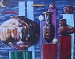 Obras de arte: America : Colombia : Cauca : Popayan : DE LA SERIE BODEGONES  1